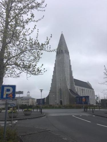Hallgrimskirkja chuch in Iceland